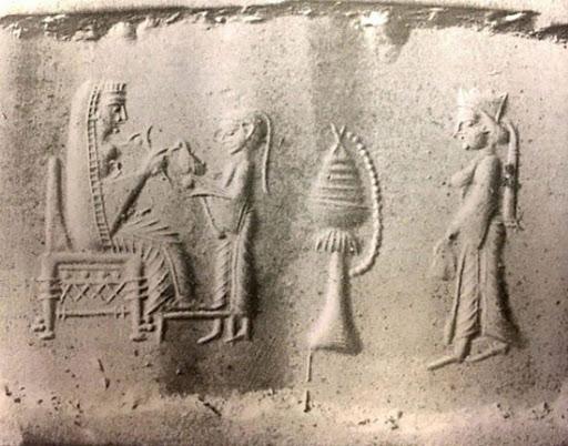 تندیس برهنه زنان ساسانی