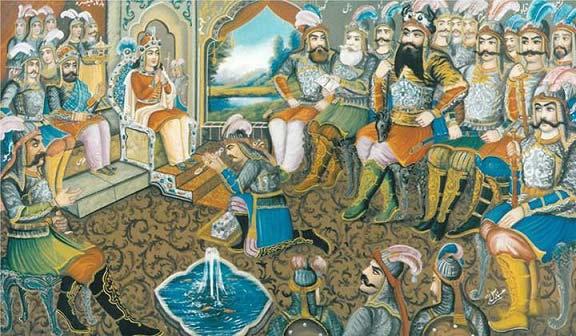 شاهنامه و برده داری در ایران باستان
